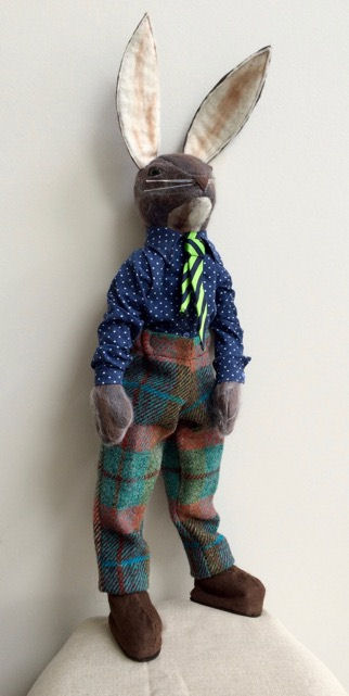 Harrold Hare Cloth Doll Sewing Animal and Rabbit Pattern