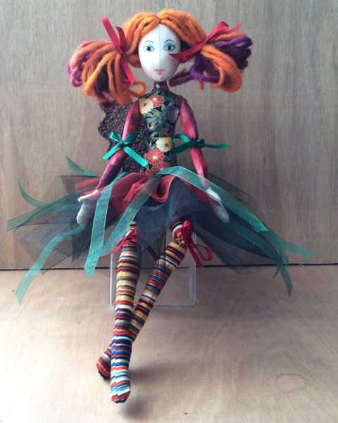 HOW TO MAKE CLOTH DOLLS~Jan Horrox~Unique~gorgeous dolls to make *BRAND NEW PUB.