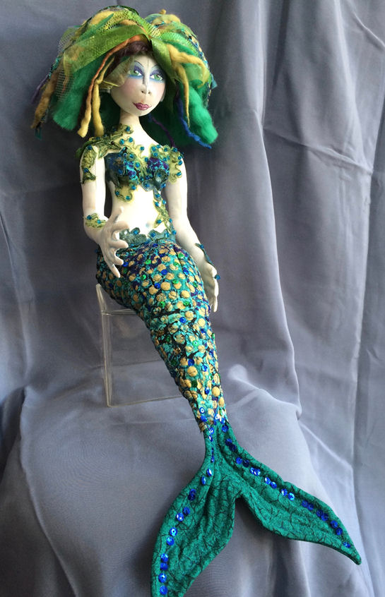 SPLASH The Magical Mermaid Doll Making Sewing Pattern