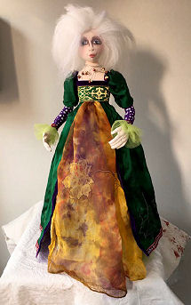 Lady of Avalon by Jan Horrox - Cloth Doll Pattern