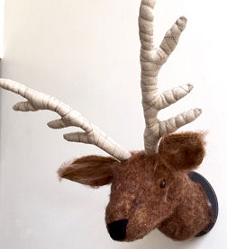 Stag or Reindeer Trophy Head