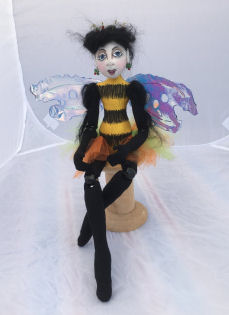 Queen Bee Cloth Doll Pattern