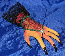 Severed Hand Pincushion Pattern