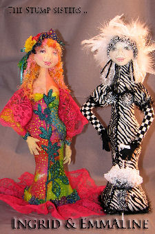 The Stump Sisters… Cloth Doll Pattern