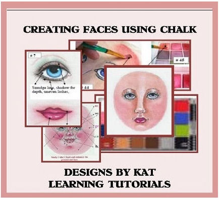 Creating Doll  Faces with Chalk CD