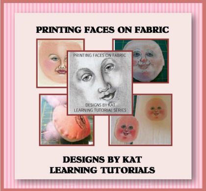 Printing Doll  Faces on Fabric CD