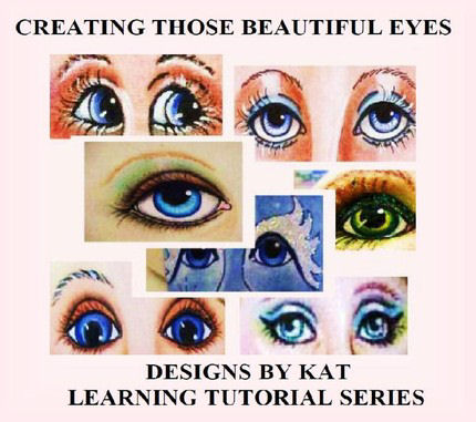 Creating Doll Eyes - Those Beautiful Eyes CD