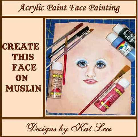 Doll Face Painting Basics Class CD