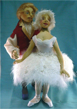 Queen Odette and Prince Ziegfried from Swan Lake Sewing Patterns