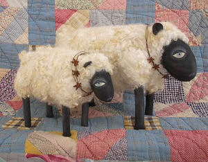 Ewe & Me Animal Cloth Dolls Pattern