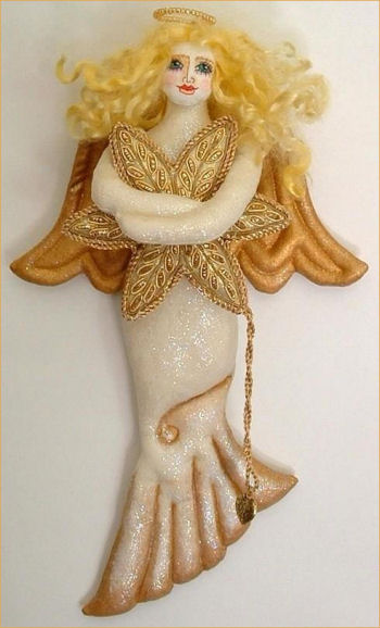 Golden Angel Sewing Doll Pattern