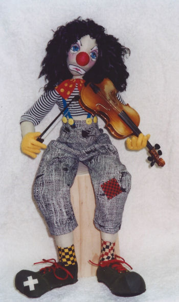 Mr. Bo Jangles Cloth sewing doll Pattern