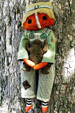 Henry and His Best Toad - Cloth Doll Making Sewing Pattern