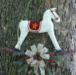 Rocking Horse Door Hanger - Sewing Pattern