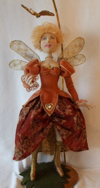 Dragonfly Fairy CLoth Doll Art Sewing Pattern