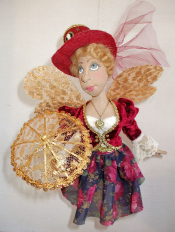 Victoria, Steampunk Fairy Cloth Doll Pattern