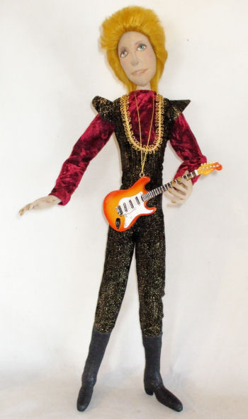 "This doll is 20"" of Rock attitude and stardom and is wired to stand alone. - Rock Star"