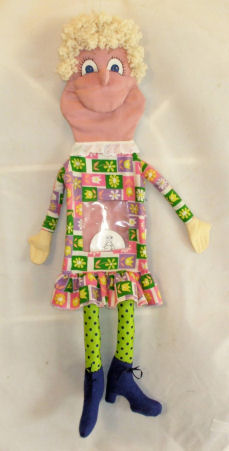 "30"" New Cloth Doll Puppet Pattern"