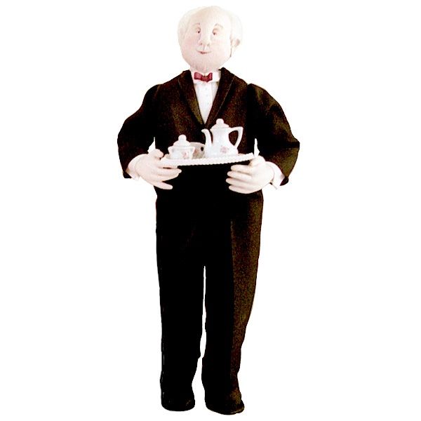 The Butler - Male Doll - Cloth Doll Making Sewing Pattern by Leslie Molen