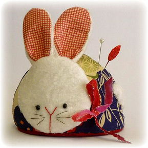 Lucky Rabbit Pincushion