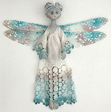 "24"" Lulu Blu Dragonfly Cloth Doll Pattern by Leslie Molen O'Leary"