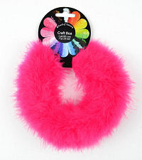 Hot Pink Marabou Feather Craft Boa