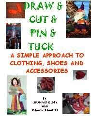 Chock full of color photographs, this delightful 54 page book guides you through the exciting adventure of devising wonderful costumes (clothing - shoes and accessories) for your dolls.