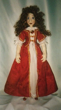 "Cloth Doll Pattern for this 26"" beauty!"