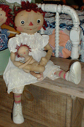 Cloth Doll Making Sewing Patterns By Maureen Mills Of Sweet Meadows Farm Delectable Sweet Meadows Farm Patterns