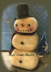Hello Winter Snowman  - Snowman Stack - New Sewing Pattern