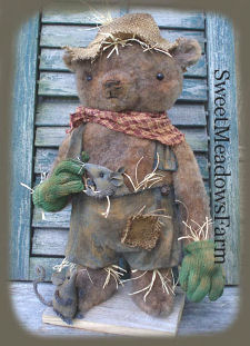 Scarecrow Bear and Mouse