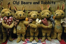 New Pattern - Old Bears and Rabbits