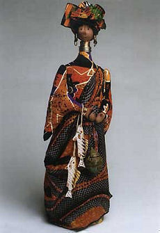 African Queen Ethnic Cloth Doll Pattern
