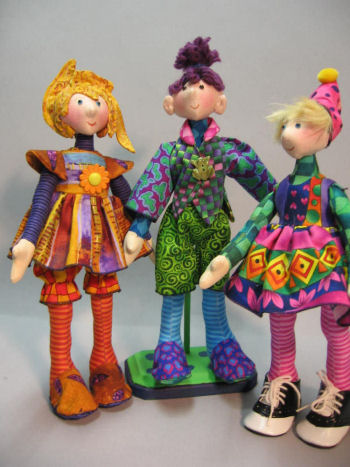 "Snippets - 11"" darlings have the proportions of old fashioned Madame Alexander, Betsey McCall and Ginny dolls."