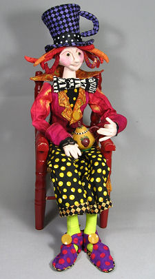 The Mad Hatter Cloth Doll Pattern by Magic Threads