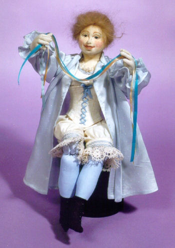 Annie Agnes - Cloth Doll Making Sewing Pattern