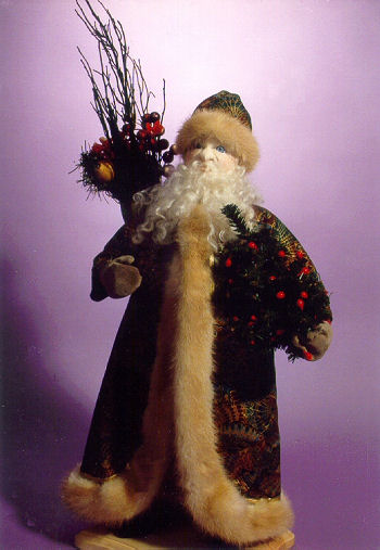 Father Christmas - Cloth Doll Making Sewing Pattern - Dollmaking