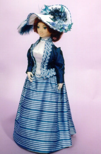 Victoria Rose – Print Version - Cloth Doll Sewing Pattern