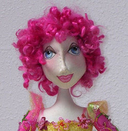 "Cloth Doll Pattern - 19"" Bead-Jointed Pattern"