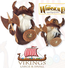 Viking Gnomes - Doll Pattern