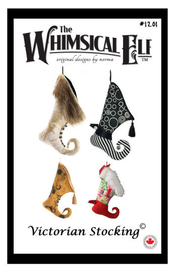 Victorian Christmas Stocking - Sewing Pattern