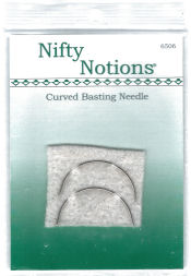Nifty Notions – Curved Basting Needles