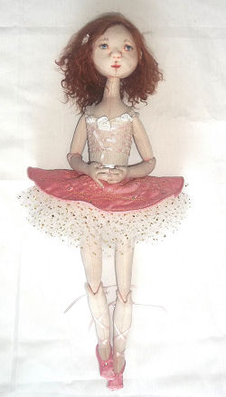 Cassie – The Little Ballerina CD - Cloth Sewing Doll Making Pattern