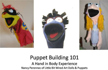 Puppet Building 101 - How to make a puppet