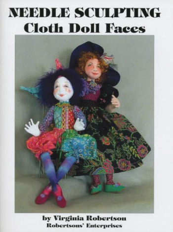 Needle Sculpting Cloth Doll Faces - Book