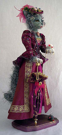 Madame Le Chat Art Doll Sewing Pattern
