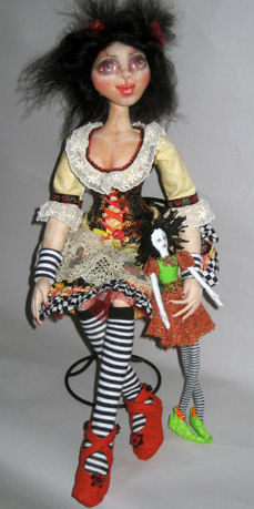 "Have fun learning how to make ball joints on this wonderful 18"" doll with"