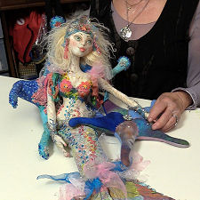 Cloth Doll Mermaids - New DVD by Patti Culea