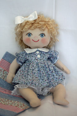 Maggie Mae Cloth Baby Doll Sewing Doll Making Pattern