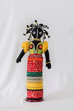 Ndebele - African Cloth Doll Making Pattern